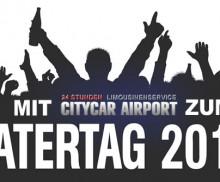 Ihr Flughafentransfer zum Vatertag 2014